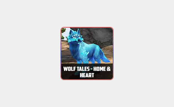 Cover for Wolf Tales - Home & Heart
