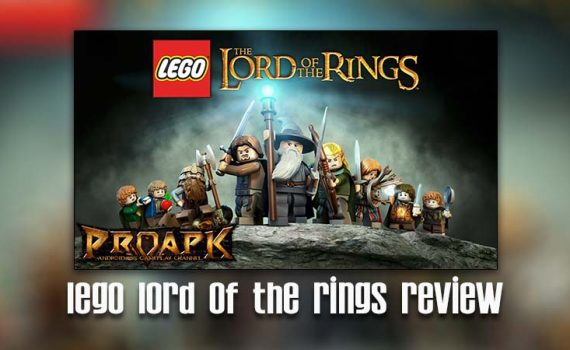 featured img for lego lord of the rings review